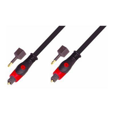 Nikkai Digital Audio Optical Toslink Lead Cable Gold 3M