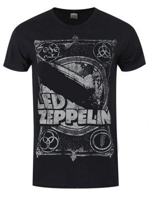 Led Zeppelin Shook Me Men's T-shirt, Black.
