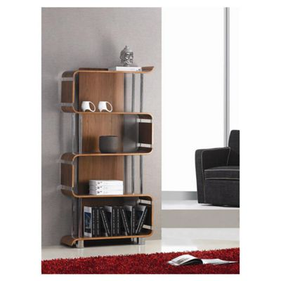 Jual Curve Bookshelf - Walnut