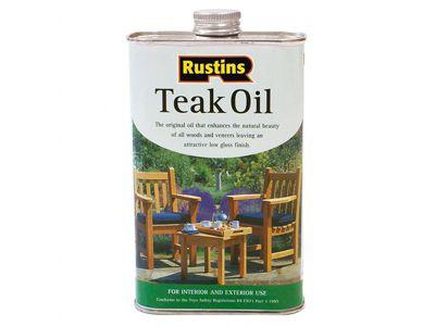 Rustins Teak Oil 2.5 Litre