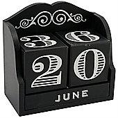 The Dapper Chap Wooden Block Calendar