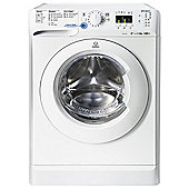 Indesit Innex Washing Machine, XWA 81482X W UK, 8KG load, with 1400 rpm - White