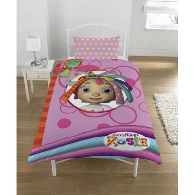 Everything's Rosie 'Ragdoll' Panel Single Bed Duvet Quilt Cover Set