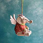 Elephant Christmas Decoration