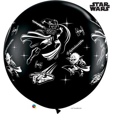 Star Wars Giant Balloon - 36 inch Latex - 2 Pack