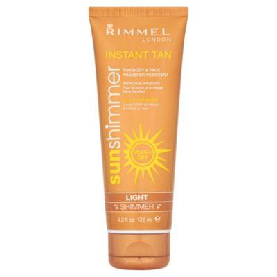 Rimmel Sun Shim Instant Tan M/Uplght Shim 125Ml