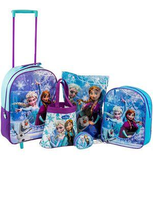 Disney Frozen 5 Piece Luggage Set