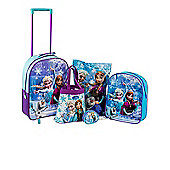 Disney Frozen 5 Piece Luggage Set