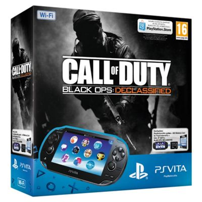 PS VITA WiFi Console with Call of Duty:Black Ops download