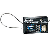 Futaba R203GF 3 Channel Receiver 2.4GHz S-FHSS (Air)