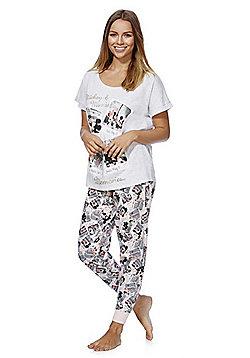Disney Mickey and Minnie Polaroid Pyjamas - Multi