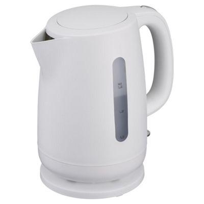 buy tesco rapid boil plastic jug kettle 1 5l white from. Black Bedroom Furniture Sets. Home Design Ideas
