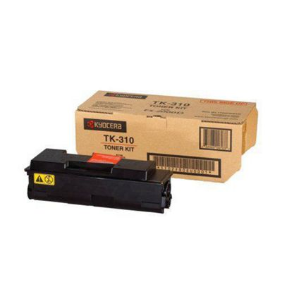 Kyocera TK-310 Black (Yield 12,000 Pages) Toner Cartridge for FS2-000D/3900DN/4000DN