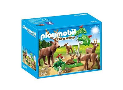 Playmobil Country Stag with Deer Family 6817