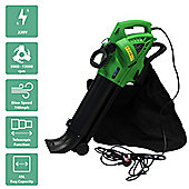 Charles Bentley 3000W Electric 220V Leaf Blower / Vacuum / Shredder With 45L Bag