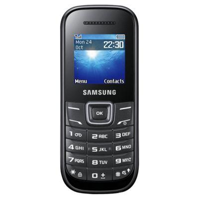 Tesco Mobile Samsung E1200 Black