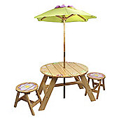 Fantasy Fields Magic Garden Outdoor Table & Set of 2 Chairs