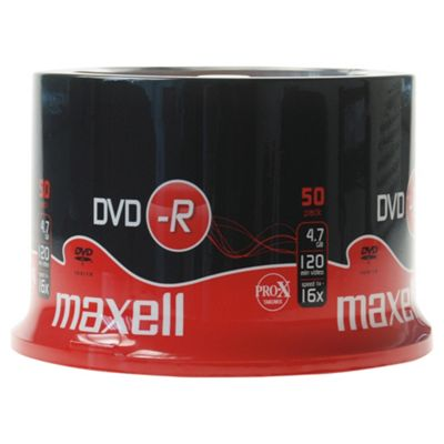 Maxell DVD-R spindle - pack of 50