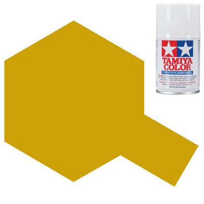 Tamiya Ps-13 Gold Polycarbonate Spray Paint 100Ml Lexan Rc Car Body