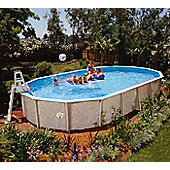 Doughboy Century Oval Steel Pool 41ft x 21ft With Super Kit