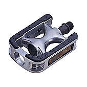 Wellgo LU975 Adult Rubber Pedal in Black