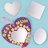 Acrylic Mirrors (Pack of 12)