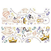 Graham & Brown 2 x Sheets Heirloom Fairy Wall Stickers