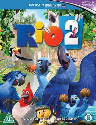Rio 2 (Blu-ray & UV)