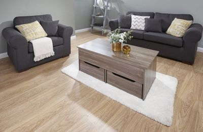 Ultimate Storage Coffee Table Walnut