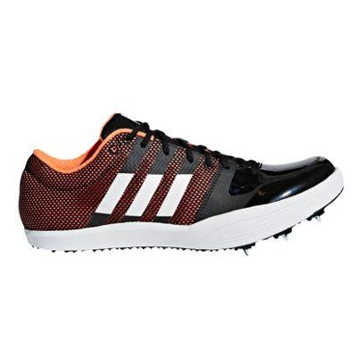 adidas adizero Long Jump Track & Field Running Spike Shoe Black - UK 10