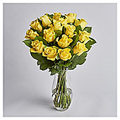 Simply Rose Yellow Bouquet