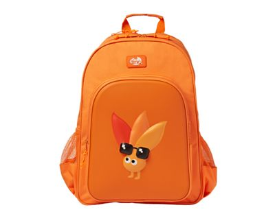 Tinc Rucksack with Large Compartment, Front Pocket and 2 External Pockets Children's Backpack, 45 cm, Orange