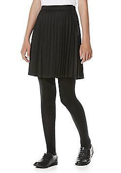 "F&F School Permanent Pleat Skirt with Teflon® EcoElite""™ - Dark grey"