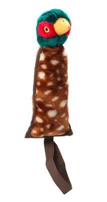 Nylon And Plush Pheasant Thrower Dog Toy