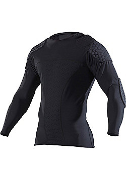 Mcdavid Hexpad Pro Long Sleeve Shirt - Black