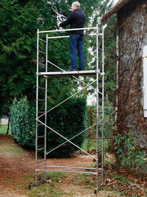 DIY Easy Reach First 5 Presto Aluminium Scaffold Tower