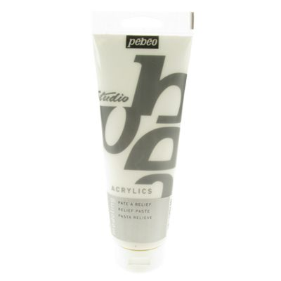 Pebeo Studio Acrylic - 250ml Modelling Paste