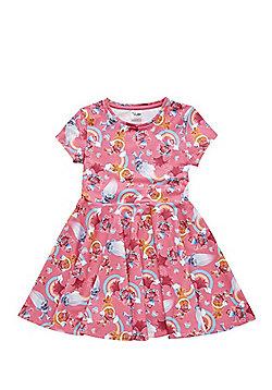 DreamWorks Trolls Jersey Dress - Pink & Multi