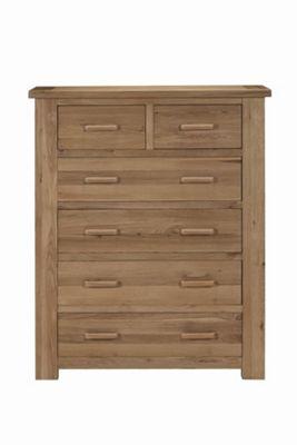 Kelburn Furniture Sasso 2 Over 4 Drawer Chest