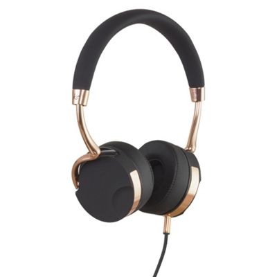KitSound Milano Over-the-ear overhead headphones, Black