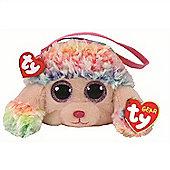 TY Beanie Boo Wristlet - Rainbow the Poodle