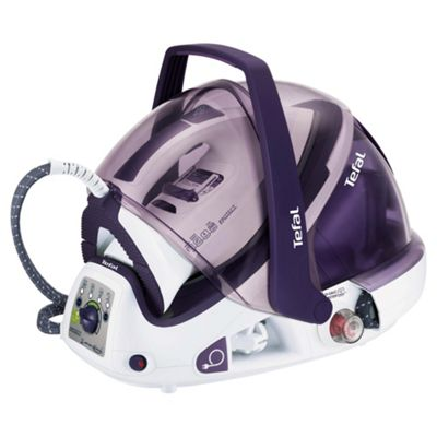 Tefal GV9461 Protect Auto Clean Ceramic Plate Steam Generator Iron - Purple & White