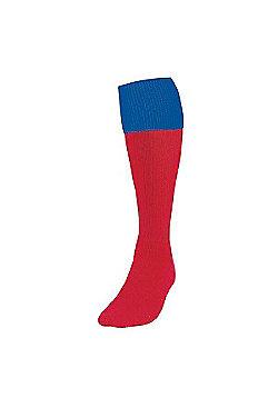 Precision Training Turnover Football Socks - Cherry