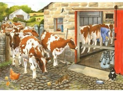Dairy Maids Puzzle