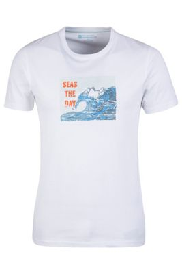 Mountain Warehouse Seas The Day Mens T-Shirt ( Size: XS )