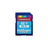 Transcend (16GB) Wi-Fi Secure Digital Memory Card (Class 10)