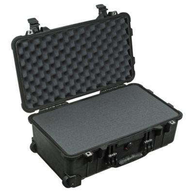 Peli 1510 Case With Foam Black