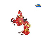 King Richards Horse RED Knights Papo