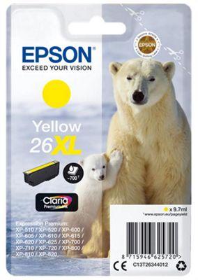 Epson Printer ink cartridge for XP-600 XP-605 XP-700 XP-800 - Yellow