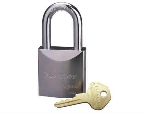 Master Lock Pro Series Chrome Padlock 51mm Without Cylinder